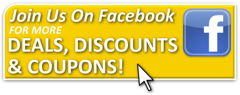 deals discounts coupons facebook