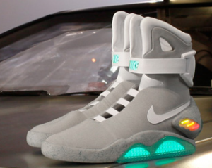 international shipping on nike mag back to the future shoes
