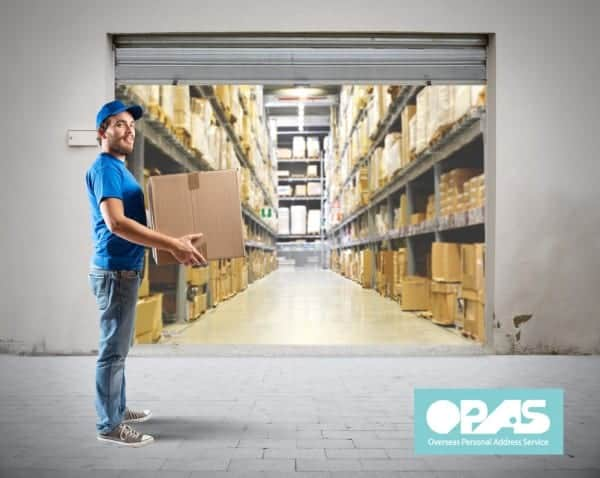 international shipping with OPAS