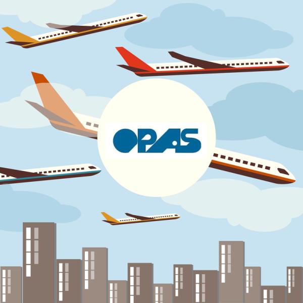 opas logo planes