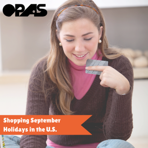 shopping september sales in the us