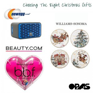 choosing the right christmas gifts