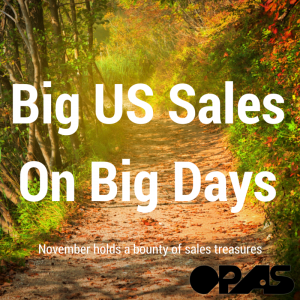 Big US Sales On Big Days