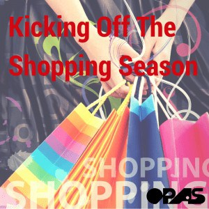 black friday is kicking of the shopping season