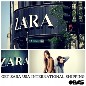 ZARA USA INTERNATIONAL SHIPPING
