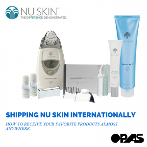 shipping nu skin internationally