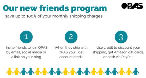 OPAS Friends Program