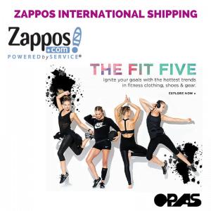 zappos international shipping