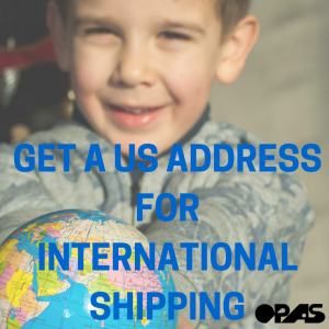 get a us address from international shipping