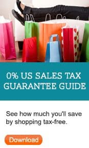 US Address with NO Sales Tax
