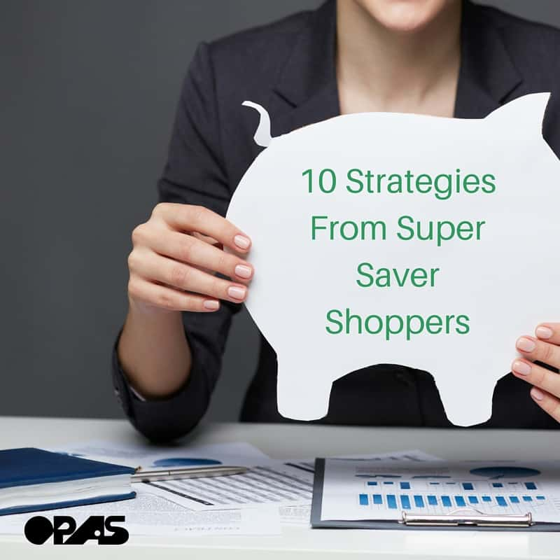 10 Strategies From Super Saver Shoppers