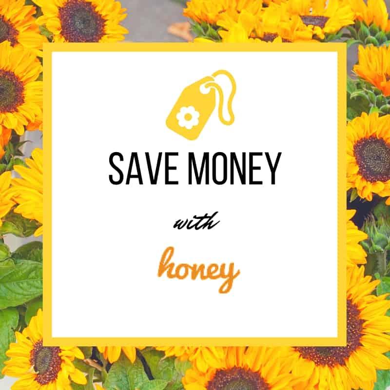 save money with honey