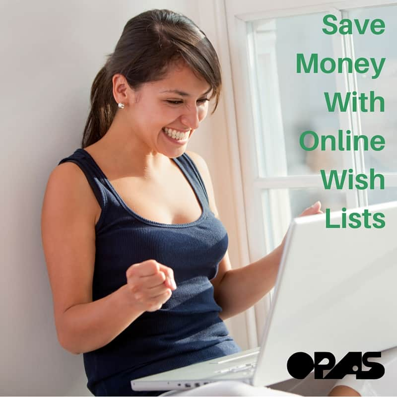 Save Money With Online Wish Lists