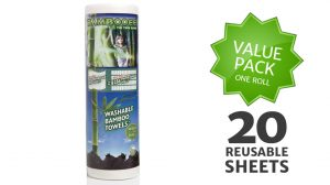 Bambooee 20 Sheets | 10 Reusable Products