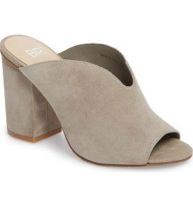 BP Tonya Open Toe Mule Nordstrom | Fall Shoe Trends