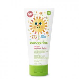 Babyganics SPF 50+ sunscreen | Summertime Baby Essentials