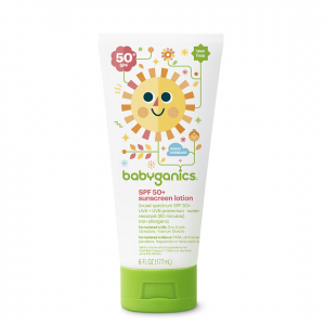 Babyganics SPF 50+ sunscreen | Summertime Baby Essentials