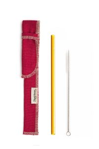 CLASSIC GLASS STRAW SLEEVE BRUSH | 10 Reusable Products