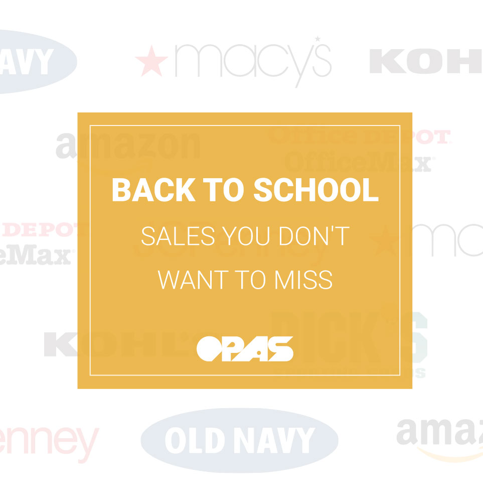 OPAS Blog Cover | Back to School Sales