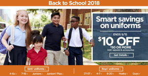 JC Penny | Back to School Sales