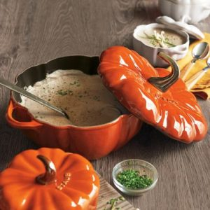 Staub Pumpkin Cocotte Sur La Table | Shopping for Fall | OPAS