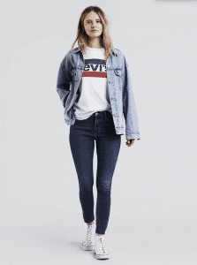 720 High Rise Super Skinny Jeans | Levis | OPAS Blog | October Shopping Trends