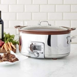 All-Clad Gourmet Slow Cooker | Williams Sonoma | OPAS Blog | October Shopping