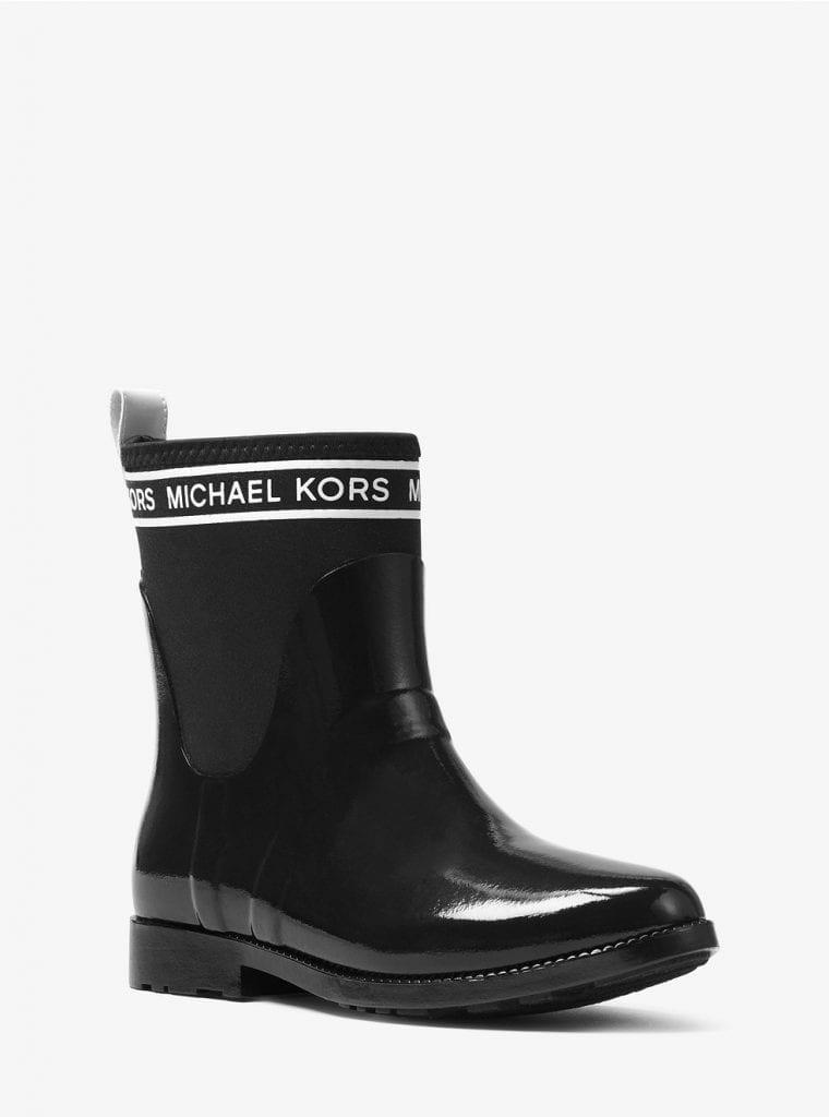 Hilda Rubber and Neoprene Rain Boot | Michael Kors | OPAS Blog | October Shopping Trends