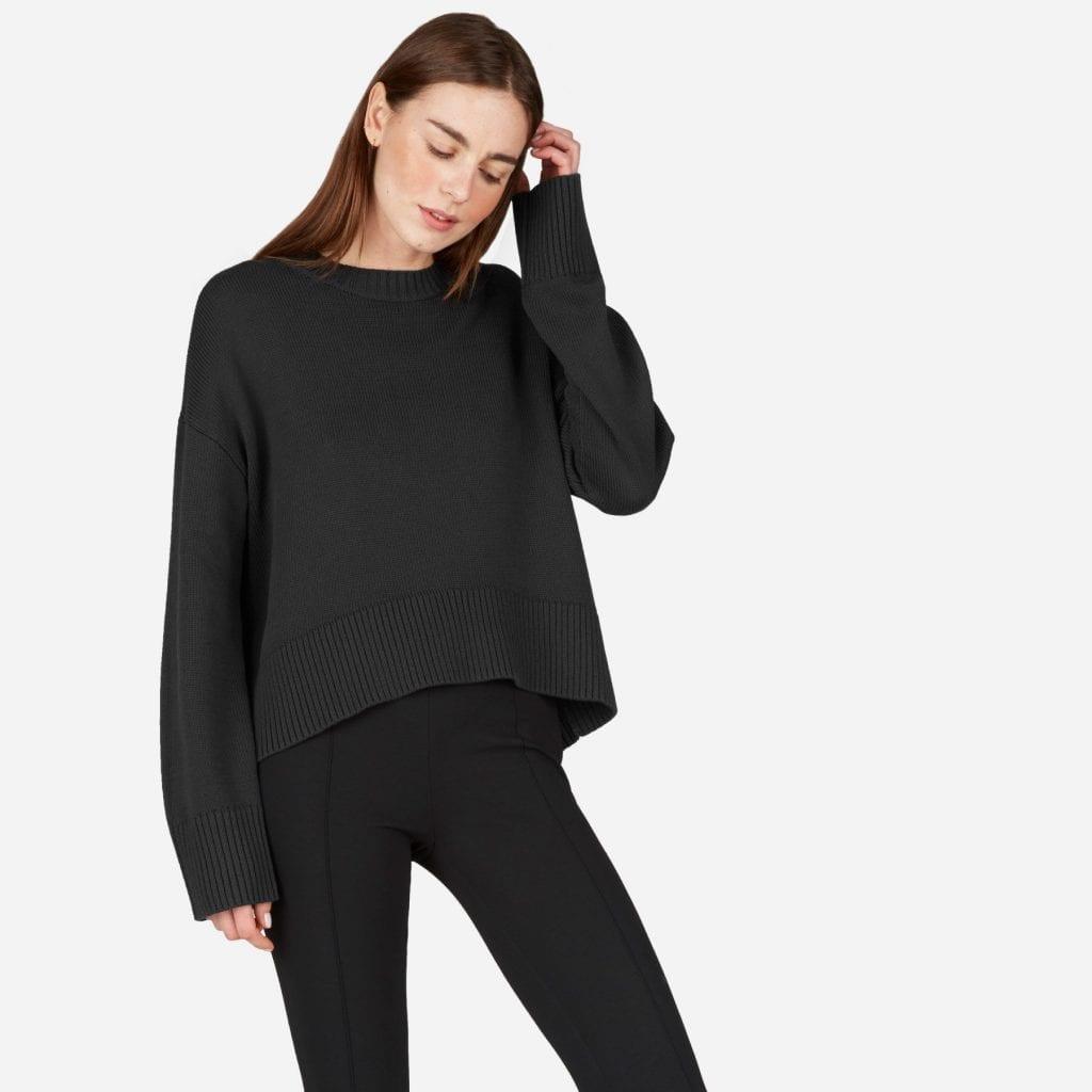 The Soft Cotton Square Crew | Everlane | OPAS Blog | October Shopping Trends