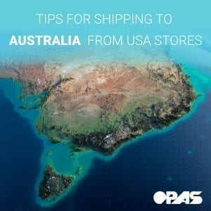 Shipping to Australia from USA | OPAS Blog