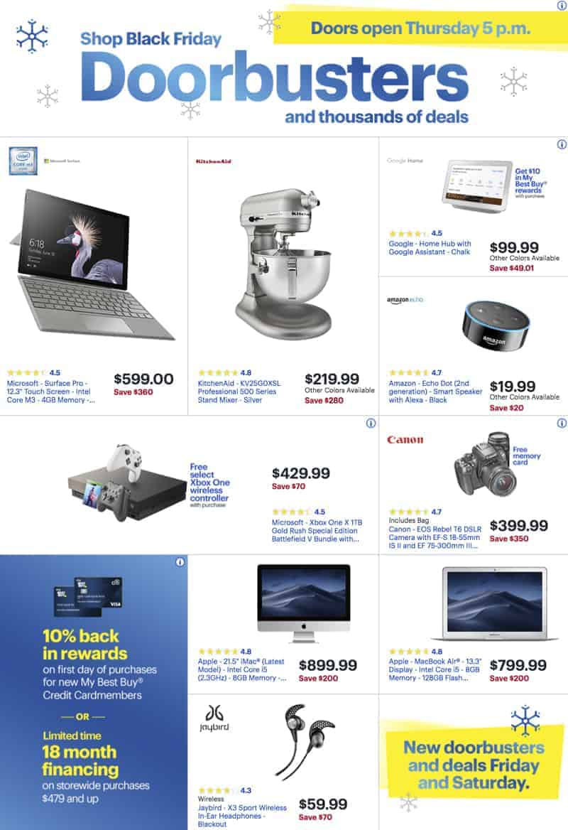 Best Buy Black Friday Sale Ad