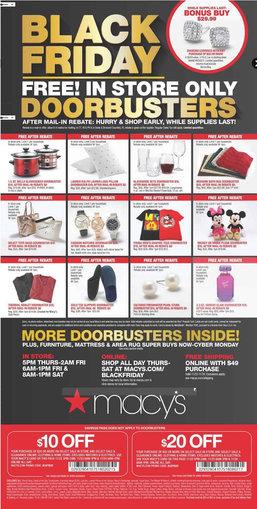 Macys Black Friday Ad | OPAS Blog
