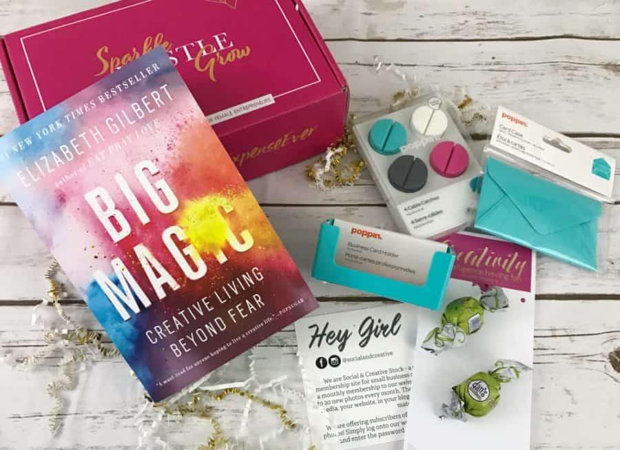 Sparkle Hustle Grow Subscription Box | Opas Blog