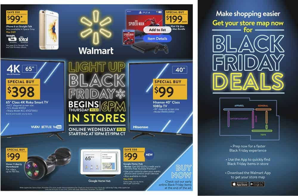 Walmart Black Friday Ad Preview | OPAS Blog