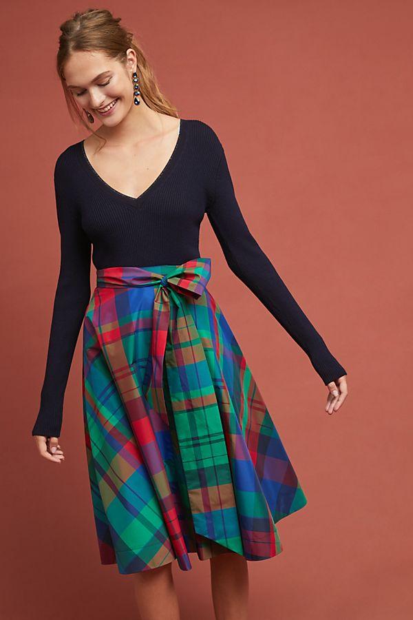 Anthropologie Sorbonne A-Line Skirt Winter Fox Skirt - Winter Fashion - OPAS Blog