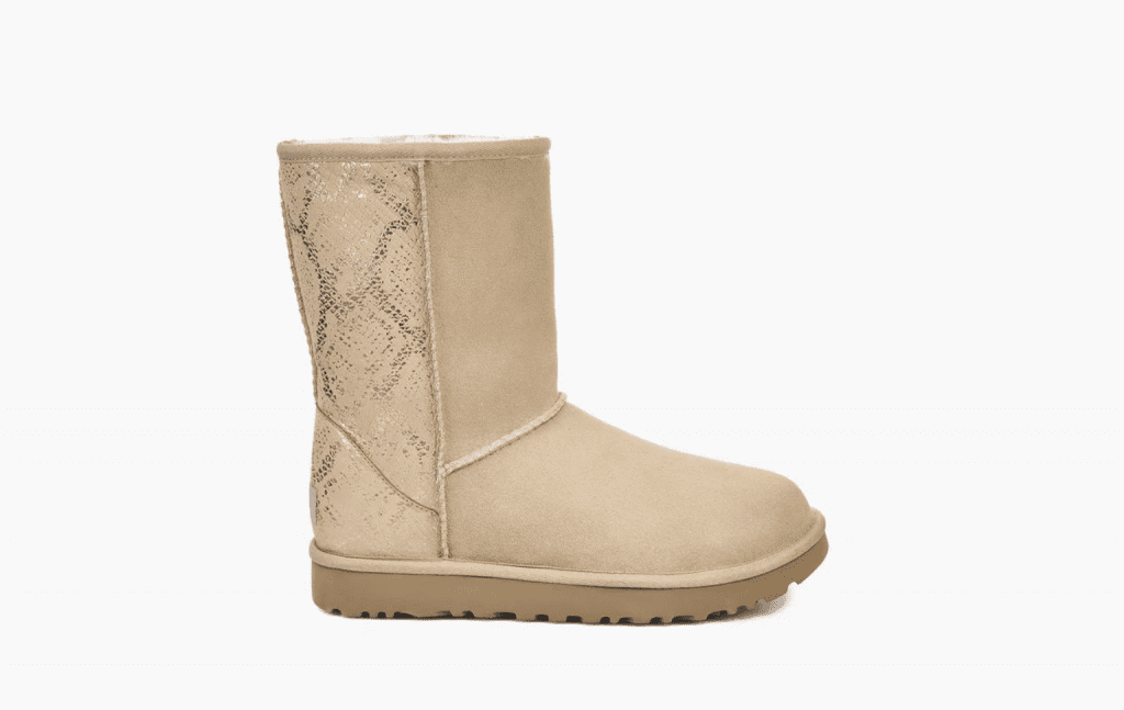 UGG Classic Short Metallic Snake Boot - Winter Fashion - OPAS Blog