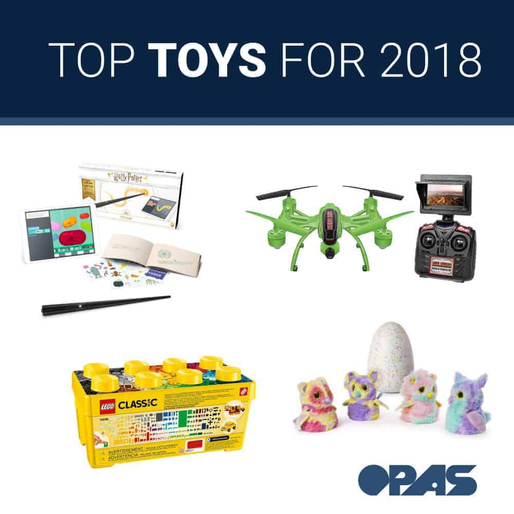 Top Toys 2018: The Year's Most Popular Toys for Children - OPAS