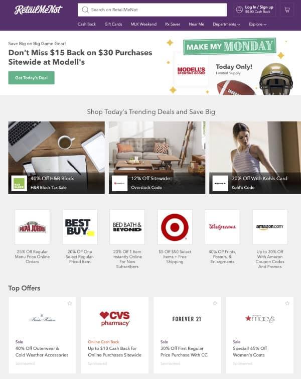 RetailMeNot   US Promo Codes   OPAS Blog