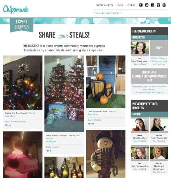 Chippmunk Expert Shopper | US Promo Codes | OPAS Blog