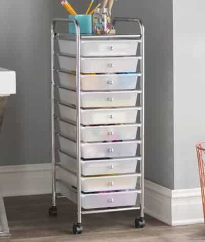10-Drawer Storage Chest Wayfair | OPAS Blog | Home Organization Products