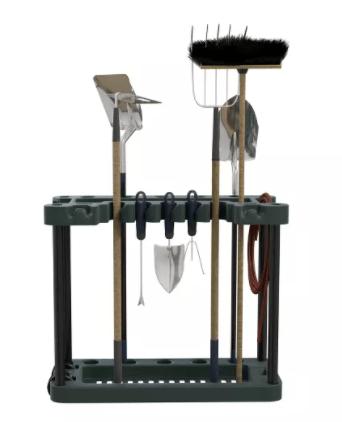 Garden tool storage rack. HOME ORGANIZATION. Ship internationally