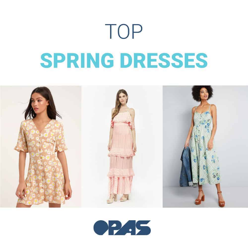 OPAS top Spring dresses