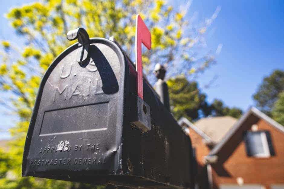 アメリカの郵便物を転送