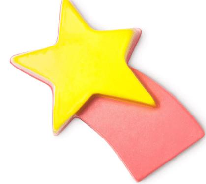 Shooting stars Lush soap