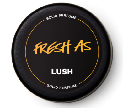fresh as from Lush