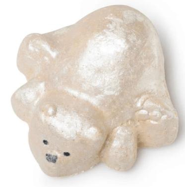 polar bear plunge from Lush