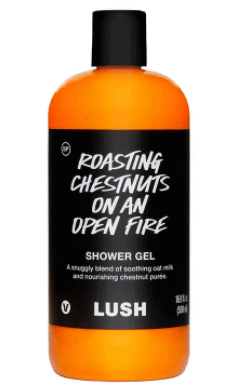 roasting chestnuts from Lush