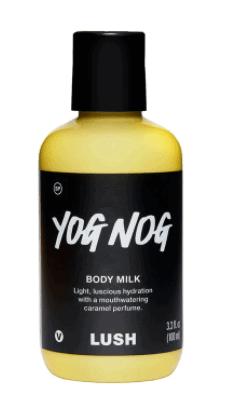 yog nog body milk Lush