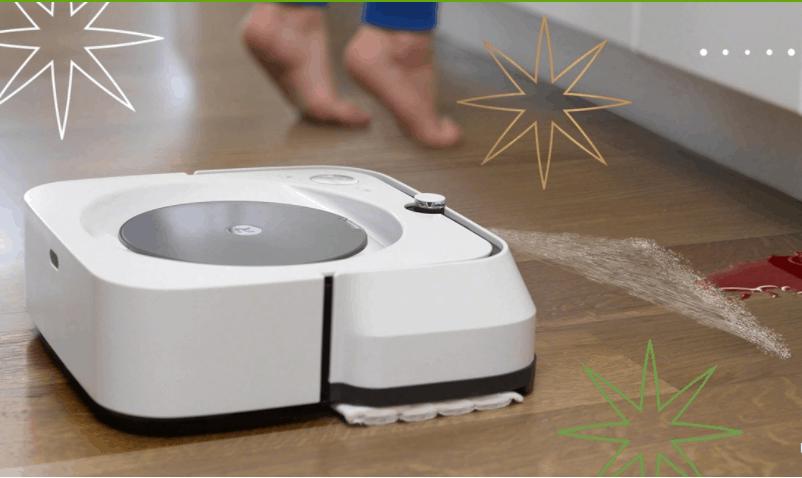 Braava jet robotic mop