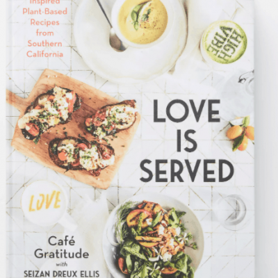 Love is Served cookbook